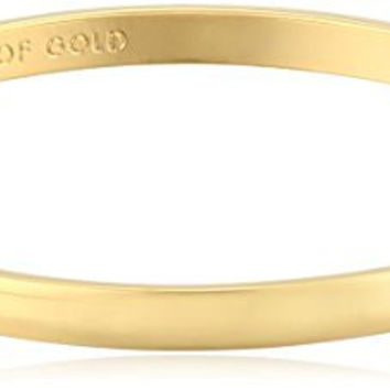 """kate spade new york Idiom Collection """"Heart of Gold"""" Bangle Bracelet, 7.75"""""""