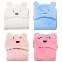 Soft Baby Blanket Baby Towels Animal Shape Hooded Towel Lovely Baby Bath Towel High Quality Baby Hooded Bathrobe