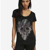 Smoky Skull Top