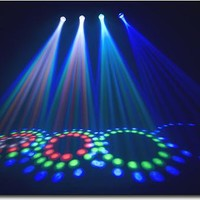 Chauvet Lighting - 4 Play 4-Head DMX-512 LED Beam Effect System - Black - 4Play - Best Buy