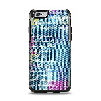 The Sketched Blue Word Surface Apple iPhone 6 Otterbox Symmetry Case Skin Set