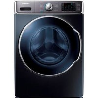 Samsung 30 in. W 5.6 cu. ft. High-Efficiency Front Load Washer with Steam in Onyx WF56H9100AG at The Home Depot - Mobile