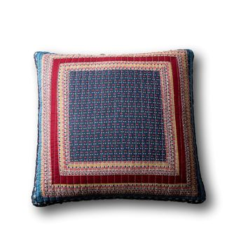 Tache Vineyard Cottage Floral Quilted Pillow Cover Patchwork 1 Piece Euro Sham (JHW-827-26X26-EURO)