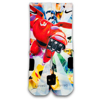 Big Hero 6 Custom Elite Socks
