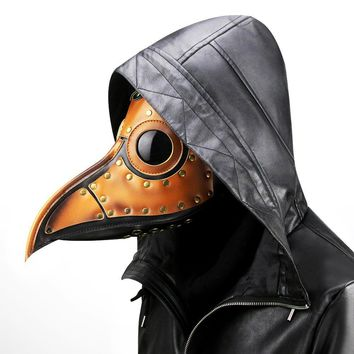 mrwonder Unisex Plague Bird Doctor Nose Cosplay Fancy Gothic Steampunk Mask costume for Masquerade Party Halloween