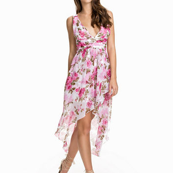 Floral High Low Dress, NLY One
