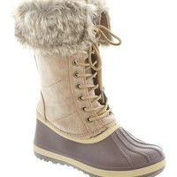 Zeus-1 Faux Fur Duck Boots