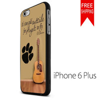 ed sheeran guitar and song quotes KK iPhone 6 Plus Case