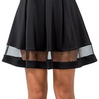 Organza Around Skirt