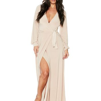 Naked Wardrobe So Wrapped Up Maxi