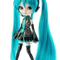 "Pullip Dolls Vocaloid Miku 12"" Fashion Doll"