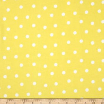 Flannel Dots Yellow