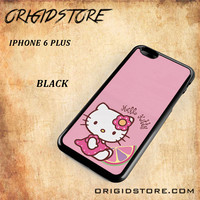 Hello Kitty Pink Lemon For Iphone 6 Plus Case - Gift Present Multiple Choice