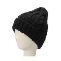 Chunky Cable Beanie Hat