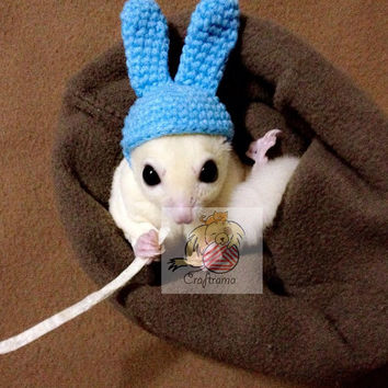 Sugar Glider hat PDF pattern
