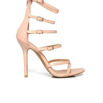 Don't Say A Thang Heel - Nude