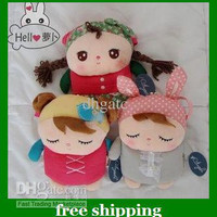 Hot Baby Plush wallet bags cell phone Angela Messenger bag Children Hasp purse gifts Free shipping