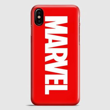 Marvel Logo iPhone X Case