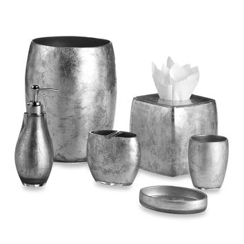 Silver Foil Bath Ensemble