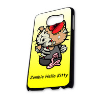 Zombie Hello Kitty yellow Samsung Galaxy S6 Case