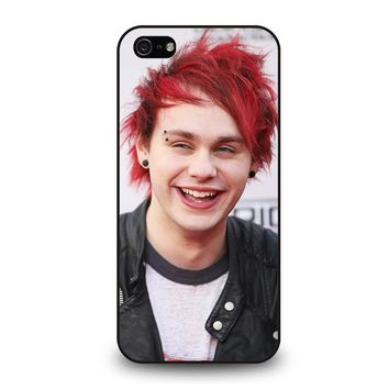 five seconds of summer michael clifford 5sos iphone 5 5s se case cover  number 1