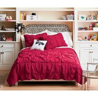 Xhilaration® Knot Coverlet Red