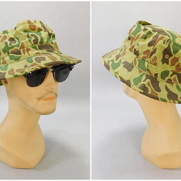 1970s Vintage Camo Cap   Carl Spackler Hat   Caddyshack Hat   Vi 446bfb7b507