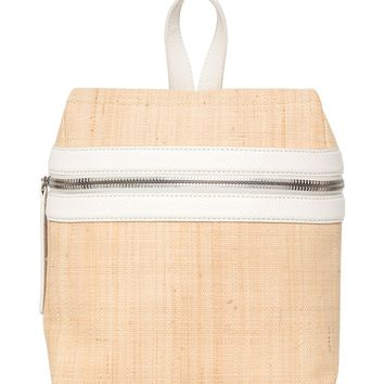 KARA Small Woven Straw Backpack | Nordstrom