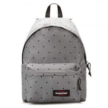 Eastpak Dot Grey Padded Pak'r Backpack