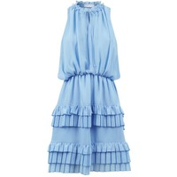 Sandro Tiered Ruffle Dress