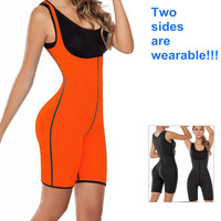 New Neoprene One Piece Waist Cincher Weight Loss Ultra Sweater Body Shapers Stretch Gym Exercise Waist Training Corsets