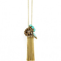 Jazz Age Tassel Necklace