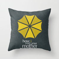 How I Met Your Mother - Minimalist Poster 01 Throw Pillow by Misery