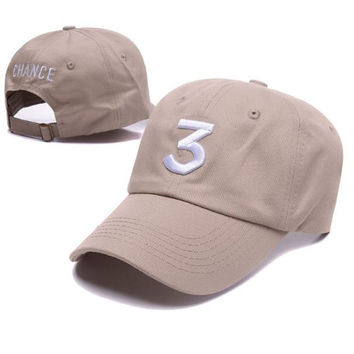 Khaki Chance the rapper dad hat