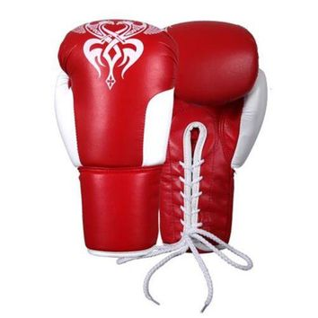 Taekwondo Gloves Boxing Training Free Combat Gloves Adults KS334-2 Red White