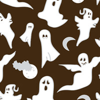New Cake & Cookie Decorating Supplies - Ghosts in the Night Chocolate Transfer Sheet