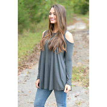 A Wish Come True Charcoal Top