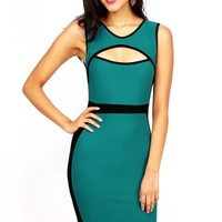 Hourglass Outline Dress