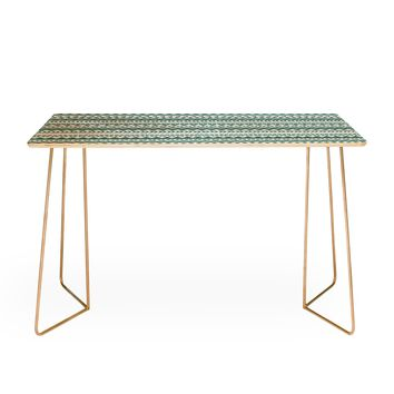 Allyson Johnson Teal Aztec Desk