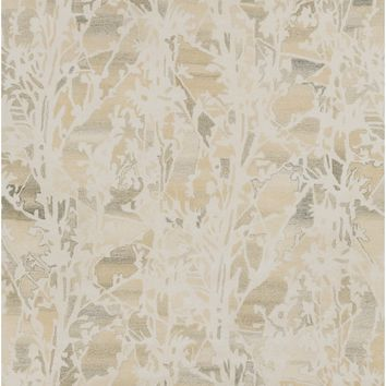Surya Asheville Floral and Paisley Neutral AIL-1003 Area Rug