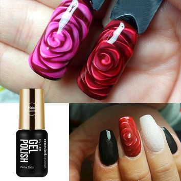 Modelones Blossom Gel Nail Art Transparent  Blossom Nail Polish Blooming Effect Flower Gel Polish Soak off UV Nail Glue Gel 7ML