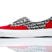 QIYIF VANS X FEAR OF GOD ERA 95 RED