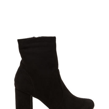 Stacked In Your Favor Chunky Booties GoJane.com
