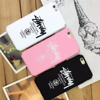 Stussy Popular Print iPhone 6 6s 6Plus 6sPlus 7 7 Plus Phone Cover Case