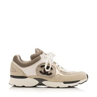 Chanel CC Sneakers - Size 7.5 / 38 | Chanel Shoes- Bag Borrow or Steal