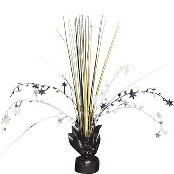Black, Gold & Silver Spray Centerpiece