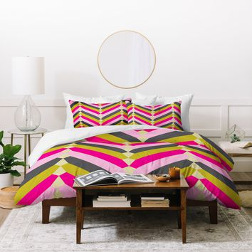 Holli Zollinger Gypsy Chevron Duvet Cover
