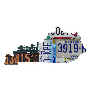 Kentucky License Plate wall decal