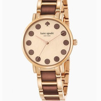 Kate Spade New York Gramercy Dot Rose Gold Bracelet Watch