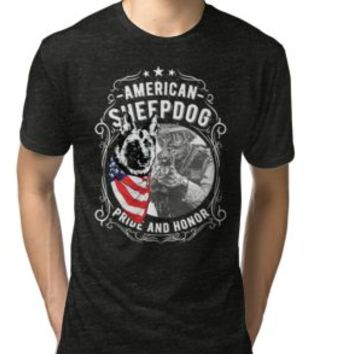 'AMERICAN SHEEPDOG' T-Shirt by Super3